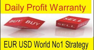 EUR USD World No 1 Strategy Daily Confirm Profit Tani Forex Warranty Trading Method in Urdu & Hindi