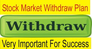 Stock Market Profit Withdraw Plan | Very important For Success