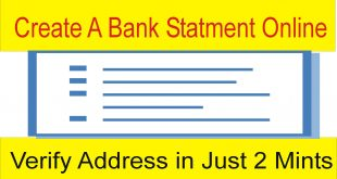 Address Verification in Just 2 Mints | Fake Bank Statement Free