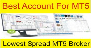 Lowest Spread Best Metatrader 5 ( MT5 ) Of The World