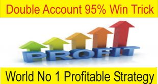 95% Win Double Account Forex High Profit Strategy
