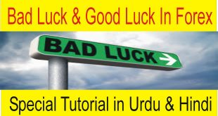 Good Luck And Bad Luck in Forex Trading Business