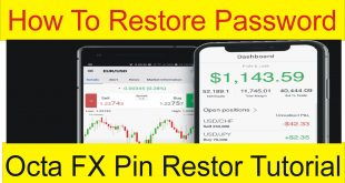 How to Restore Forex Trading account Password