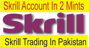 Skrill Account in Pakistan Open in Just 2 Mints Withdraw through Mobicash Account By Tani Forex