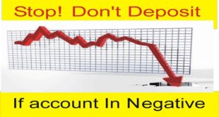 Stop! Don't Deposit If Your account In Negative ! New Tutorial In Urdu and Hindi By Tani Forex