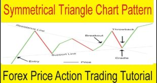 Forex Price Action | Symmetrical Triangle MT4 Chart Pattern Tutorial In Urdu & Hindi by Tani Forex