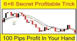 100 Pips Profit In Your Hand | 6+6 Forex Trading Moving Average Secret Trick By Tani Forex in Urdu