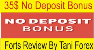35$ No Deposit Bonus Fortfs Review By Tani Forex
