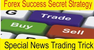 Forex Success Secret Strategy News Trading Trick
