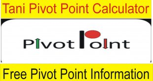 Tani Free Pivot Points Calculator Find Supports , Resistance