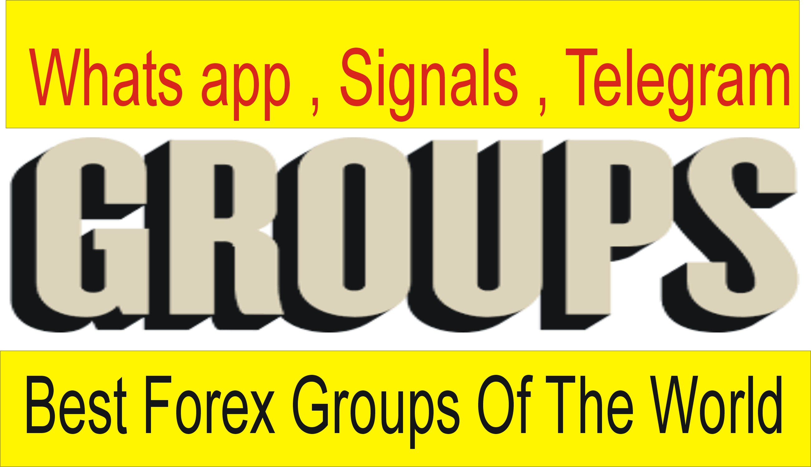 Best Forex Whats app, Signals, Telegram Group Benefits and