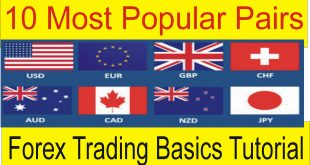 10 Most Popular Pairs In Trading | Stock Market Basics Tutorial by Tani Forex in Urdu and Hindi