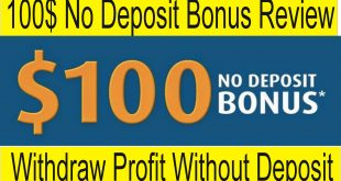 100$ No Deposit Bonus 2018 | Forex Chief Promotion