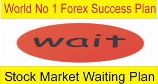 Forex Waiting Plan | Best Trading Way Of The World