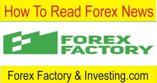 How To Read Forex Factory and Investing.com Website Calendar News Data