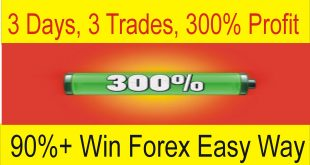 3 Days 3 Trades 300% Profit 90% Win High Profit Forex Trading Strategy