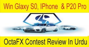 Win Glaxy, S9 IPHONE 8 And Huawei P20 Pro | OctaFX Contest Review