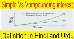 Definition of Simple Interest and Compounding Interest