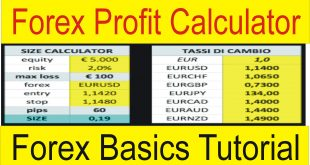 Forex Profit Calculator TaniForex profit and Loss Calculation tutorial