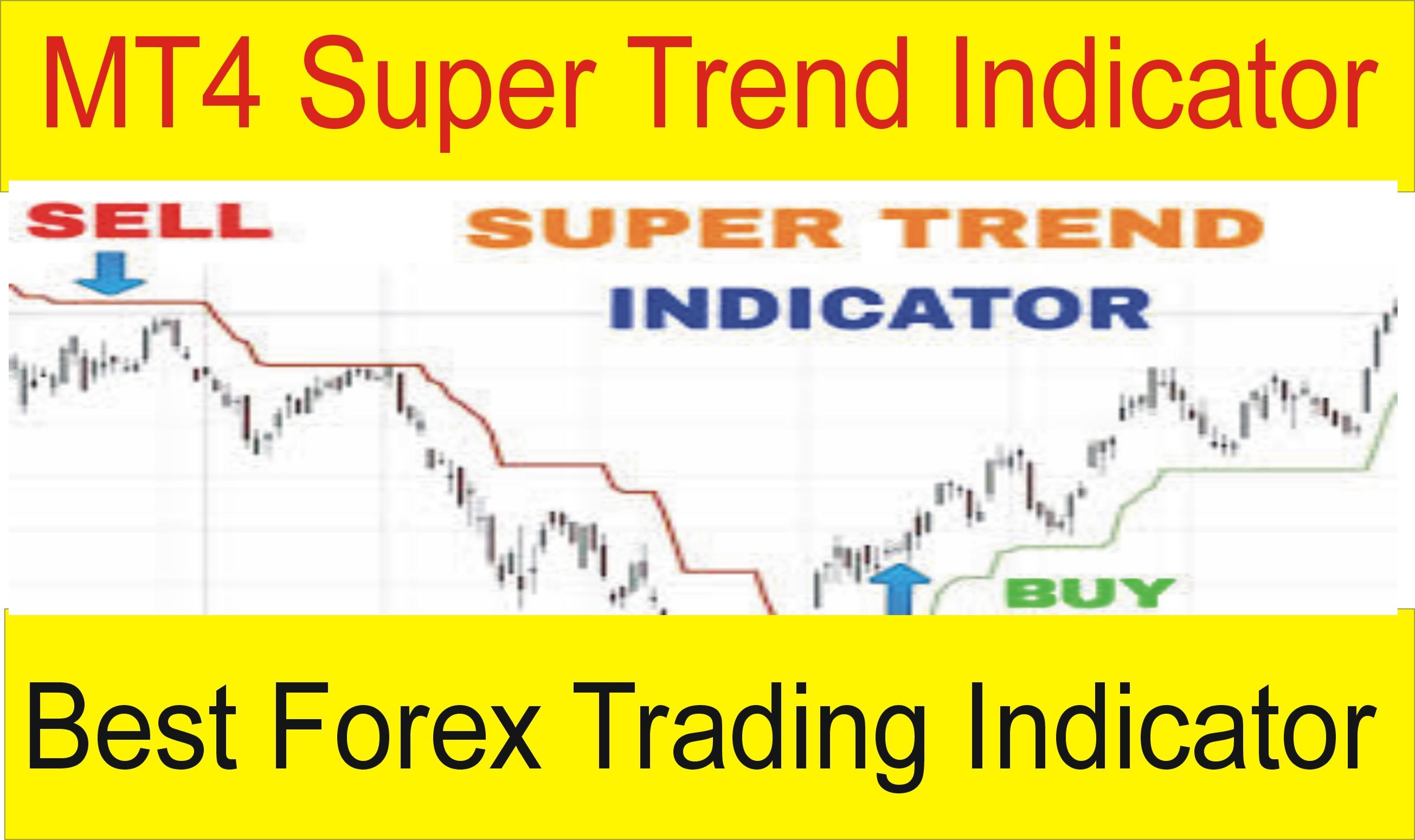 Super Trend MT4 Forex indicator free download 2019