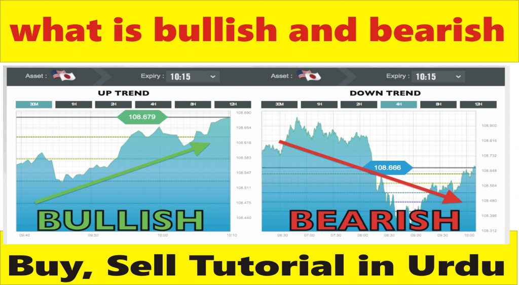 What is bullish and bearish in trading | Forex basics tutorial